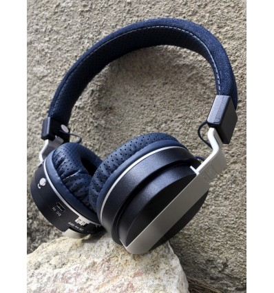 Casque bi-colore BLUETOOTH / JACK / MICRO SD