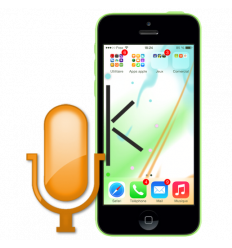 Réparation microphone iPhone 5C